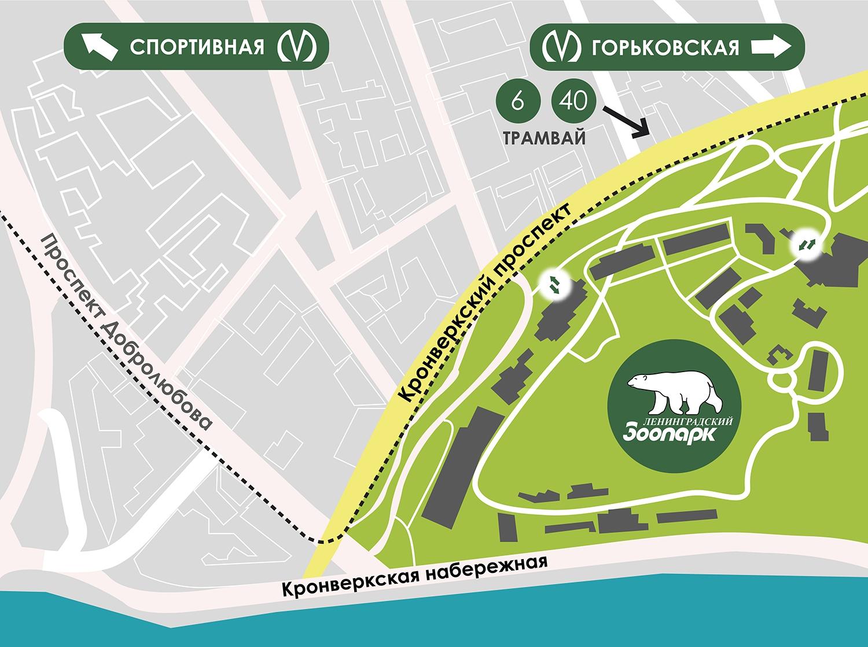 Зоопарк в москве. схема проезда на метро